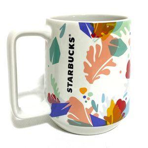 Starbucks 2020 Summer Leaf Mug  Foliage New